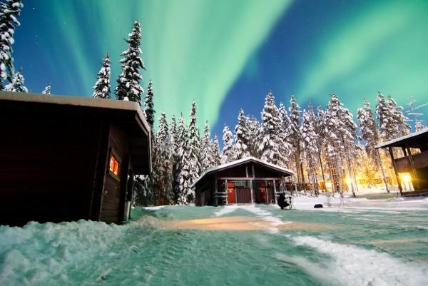 Seven Fells Lodge apartment cabin studio Lapland Travel Äkäslompolo